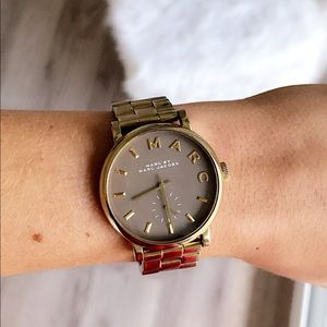 Marc by Marc Jacobs Baker Gold Watch